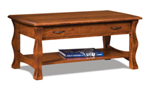 Reno Open Coffee Table with Drawer