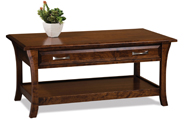 Ensenada Open Coffee Table with Drawer