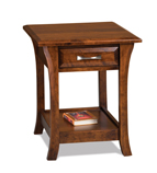 Ensenada Open End Table with Drawer