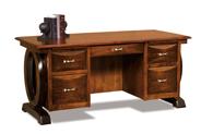 Saratoga 5 Drawer Desk