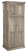 "32"" Mission 4-Door Pantry Cabinet"