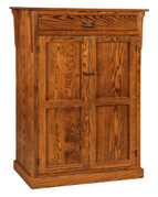 Express Mission Leaf Storage Cabinet  with Drawer