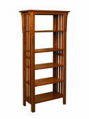 "Honeymaze 60"" Bookcase"
