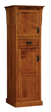 Mission 2-Door Pantry Cabinet