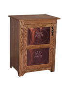 Traditional Copper Insert Jelly Cupboard
