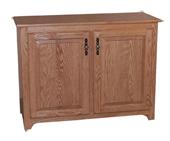 "Traditional Raised Panel Doors 31½"" Pie Safe"