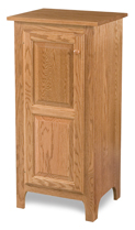 Classic Style 1-Door 2-Raised Panel Pie Safe