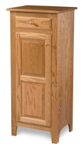 Classic Style 1-Door 2-Raised Panel with Drawer Pie Safe