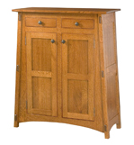 McCoy with Reverse Panels Storage Cabinet