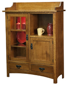 Pottery Storage Cabinet