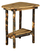 Bearwood Wedge Shaped End Table