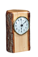 Hickory Desk Clock
