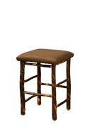 "24"" Hickory Bar Stool"