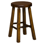 "24"" Shaved Bar Stool"