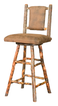 "24"" Westville Bar Stool with Fabric Seat & Back"