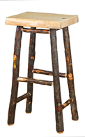 "30"" Pine Top Bar Stool"