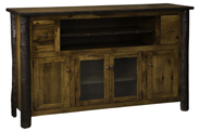 """60"""" Hickory TV Cabinet"""
