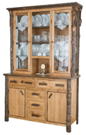 Hickory 2-Pieces Hutch