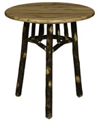 """Hickory 22"""" Round End Table"""
