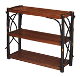 Hickory 3 Shelf Stand