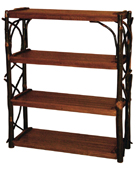 Hickory 4 Shelf Stand