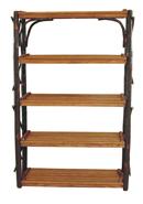 Hickory 5 Shelf Stand