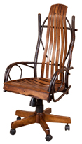 Hickory Desk Chair