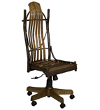 Hickory Desk Chair without Arms
