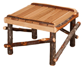 Hickory Footstool - Large