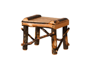 Hickory Footstool - Small