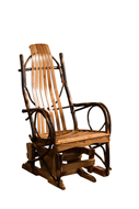 Hickory Gliding Chair