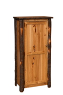 Hickory Jelly Cupboard with Wood Door