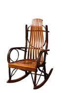 "Bendwood Hickory ""Jumbo"" Rocker"