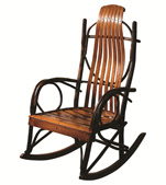 "Bendwood Hickory ""Oversized"" Rocker"
