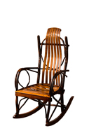 "Bendwood Hickory ""Overtall"" Rocker"