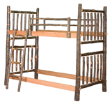 Hickory Twin Bunk Bed
