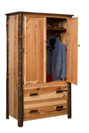 Hilltop 2 Door and 2 Drawers Armoire
