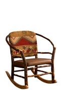 Hoop Chair Rocker with Fabric