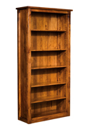 Parkland Bookcase w/5 Adjustable Shelves