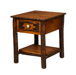 "20½"" Wildwood End Table with Solid Bottom Shelf"