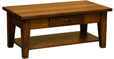 Heritage Shaker Coffee Table with Drawer