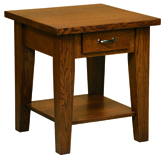 Heritage Shaker End Table with Drawer