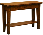Heritage Shaker Library Table with Drawer