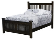 American Mission Slat Bed