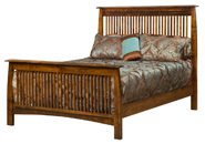 Boulder Creek Slat Mission Bed