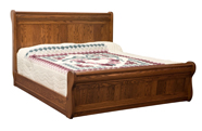 Old Classic Sleigh Bed without Leg