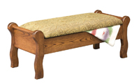 Sleigh Bed Seat