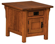 Camden Mission Cabinet End Table