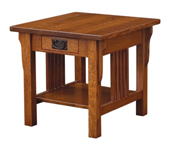 Camden Mission Open End Table