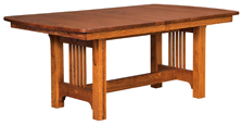 Craftsman Mission Dining Table